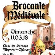 Brocante médiévale à Alby sur Chéran