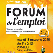 Forum de l'emploi à Rumilly