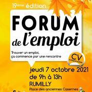 Forum de l'emploi à Rumilly