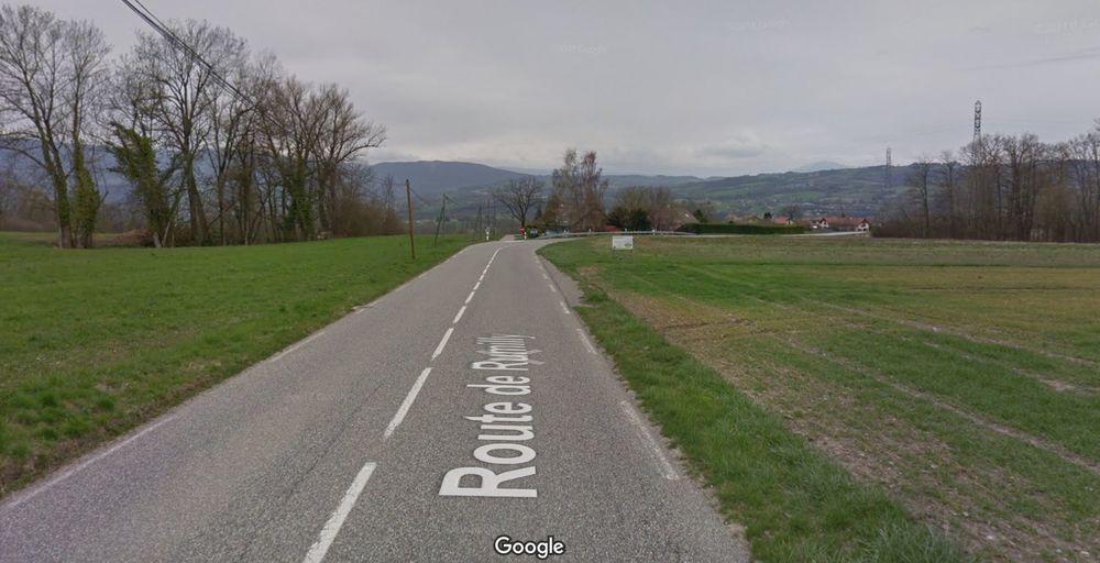 Route des Creuses - Accident