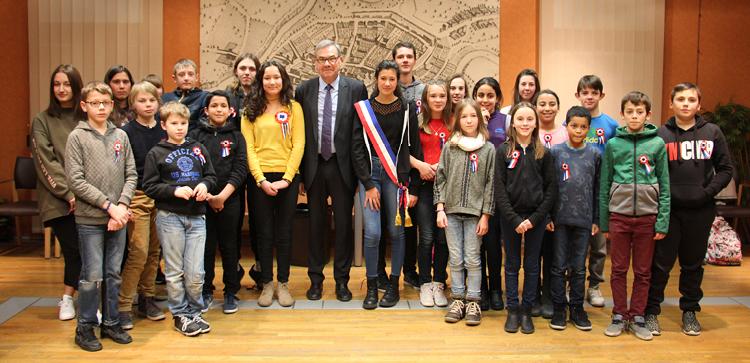 Rumilly: Le nouveau conseil municipal des jeunes en place !