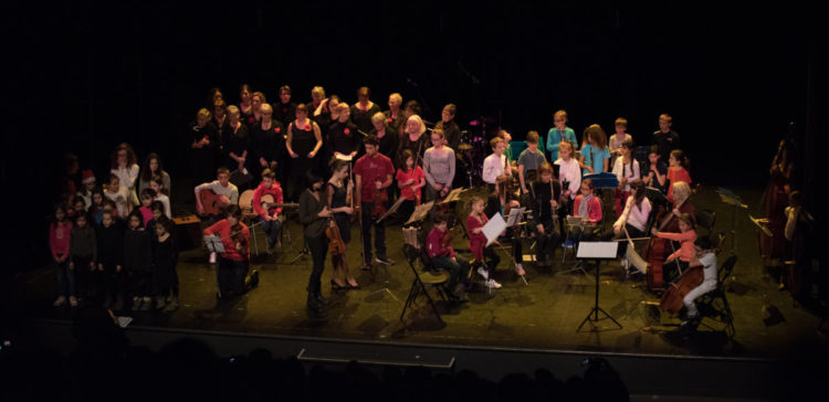 Concert de Noel Ecole de musique Rumilly