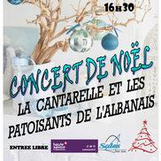 Concert de Noël La Cantarelle à Sales