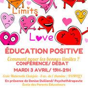 Conférence Débat sur l'éducation positive à Rumilly