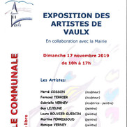 Exposition d'artistes à Vaulx