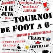 Marcellaz Albanais : Tournoi de foot à 6