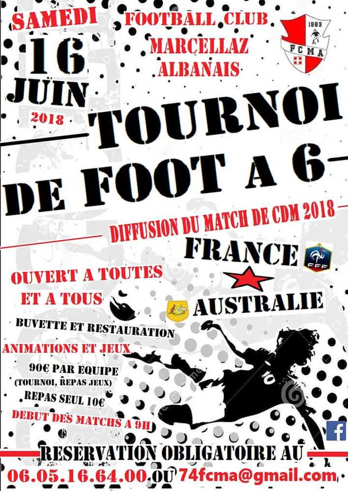 Tournoi de foot Marcellaz