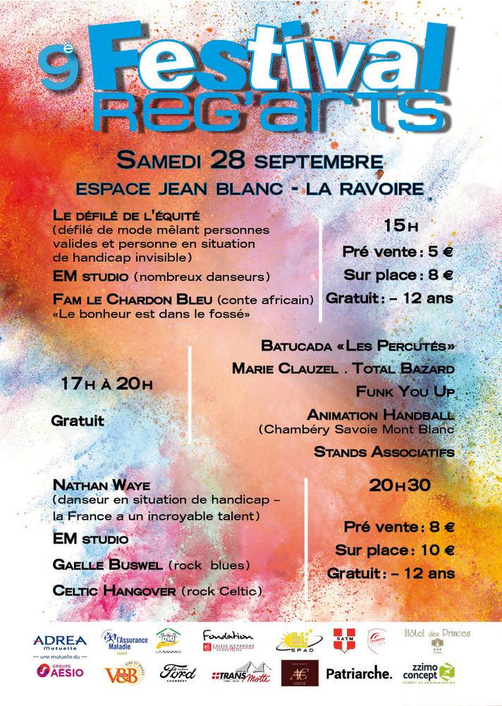 Festival Reg'Arts Chambéry
