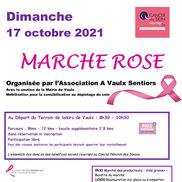 Marche rose à Vaulx