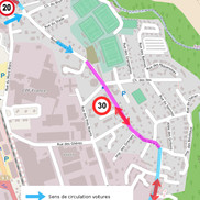 Rumilly : Changement de plan de circulation rue de la Fuly
