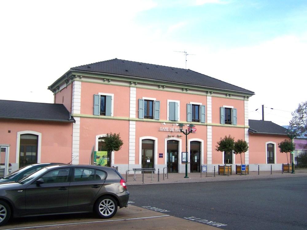 Gare SNCF de Rumilly.