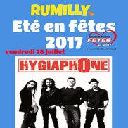 Été en fêtes à Rumilly – Concert de Hygiaphone
