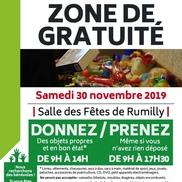 Zone de gratuité à Rumilly
