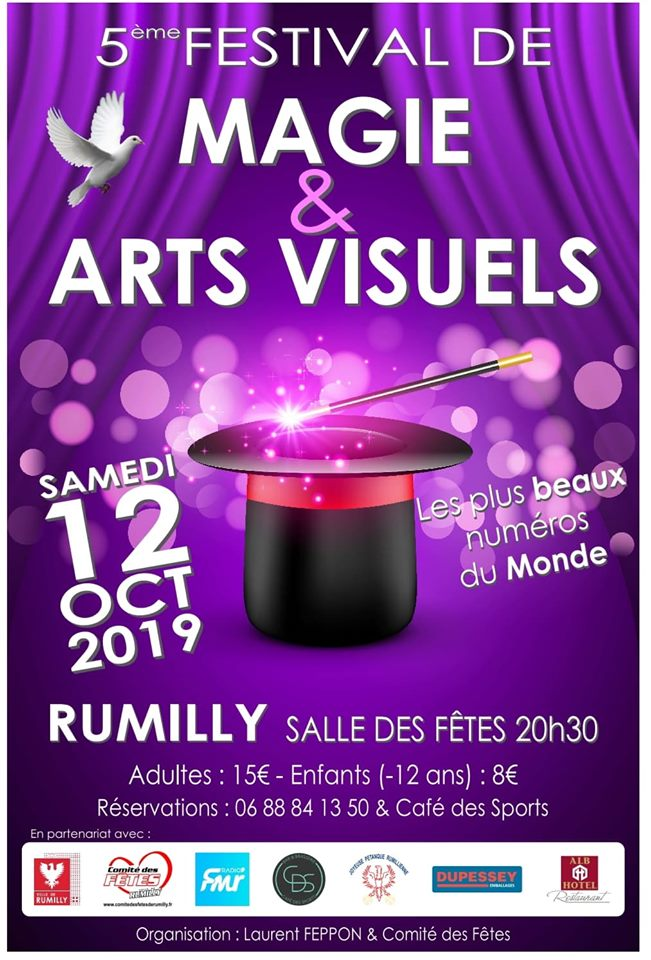 Spectacle magie Rumilly