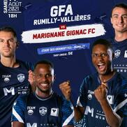 Foot national 2 GFA Rumilly Vallières / Marignane Gignac FC