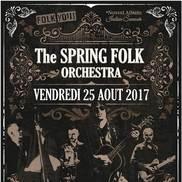 Concert de The Spring Folk Orchestra à Alby Sur Chéran