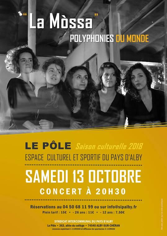 Concert Alby Sur Chéran