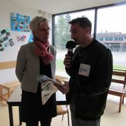Reportage sur la porte ouverte du Lycée Porte des Alpes