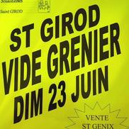 Vide grenier à St Girod
