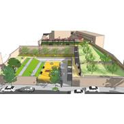 Projet d'aménagement d'un jardin public à Rumilly