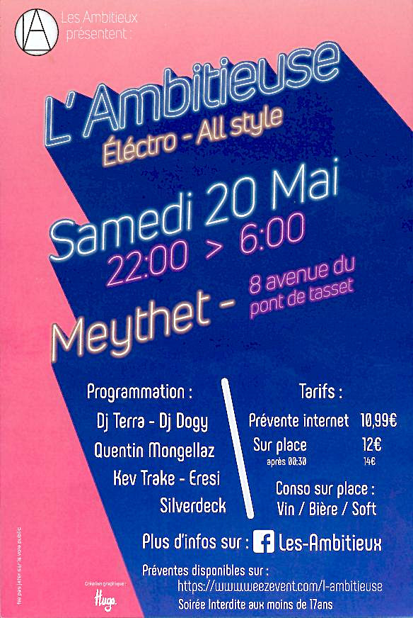 Flyer l'ambitieuse