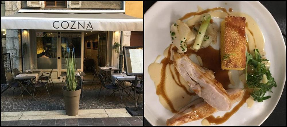 Restaurant Cozna Annecy