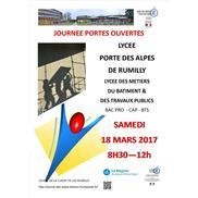 Portes Ouvertes au Lycée Porte des Alpes