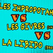 Théâtre d'improvisation : les Impropotames vs les Givrés ...