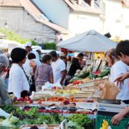 Rumilly : Le marché réouvre dès jeudi et change de lieu.