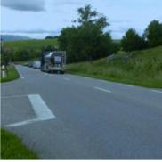 Marigny-Saint-Marcel : Aménagement du carrefour du «Vieux Marigny» sur la RD3.