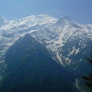 Avalanche sur la commune des Houches