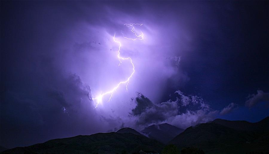 Alerte orange aux orages en Haute-Savoie