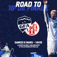 Football Coupe de France 16e de finale GFA Rumilly Vallieres (N2) / FC Annecy (N1)