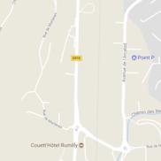 Rumilly : Travaux d'aménagement du carrefour au lieu-dit « Martenex »