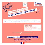 Porte ouverte de l'Espace France Service à Rumilly