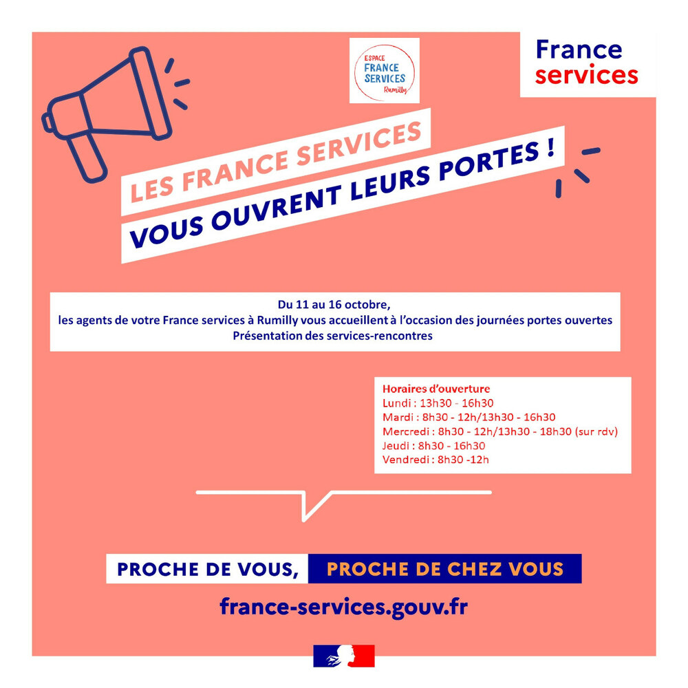 Portes ouvertes Espace France Service Rumilly