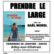 Séance cinéma à Alby – Prendre le large