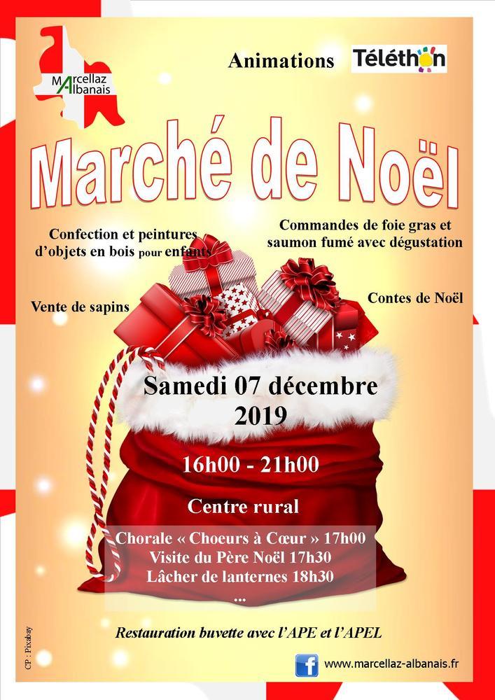 Marché de Noël Marcellaz