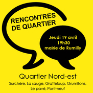 Rencontre de quartier à Rumilly