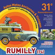 31e rassemblement autos motos anciennes et vintage à Rumilly
