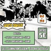 Battle de HIP HOP Savoie Danser organisé par Original Dance Concept