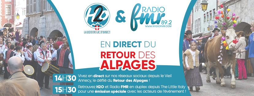 Retour des alpages direct radio