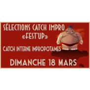 Théâtre d'improvisation Rumilly : sélections catch impro