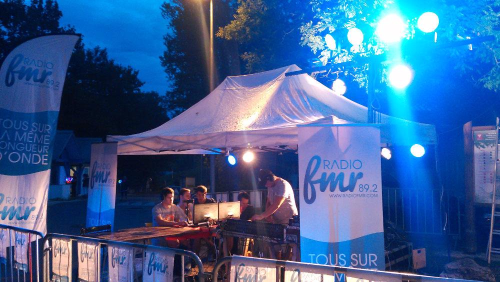 Radio FMR fête du plan d'eau Rumilly
