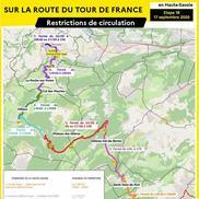 Passage du Tour de France en Haute-Savoie