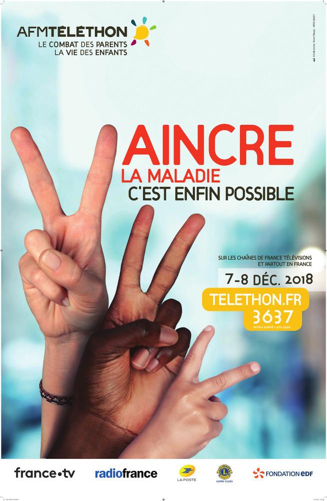 téléthon Albens Saint Ours La Biole La Chambotte