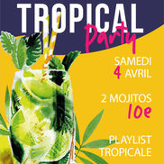 Tropical Party à l'Alibi