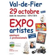 Expo d'artistes amateurs et professionnels à Val de Fier