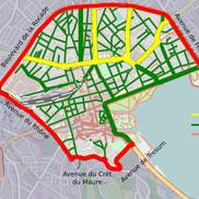 Zone 30 et vignette Crit'air à Annecy